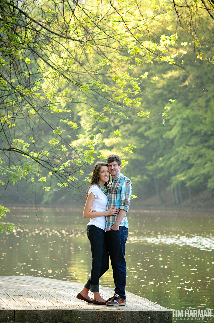 Atlanta engagement shoot in Piedmont Park