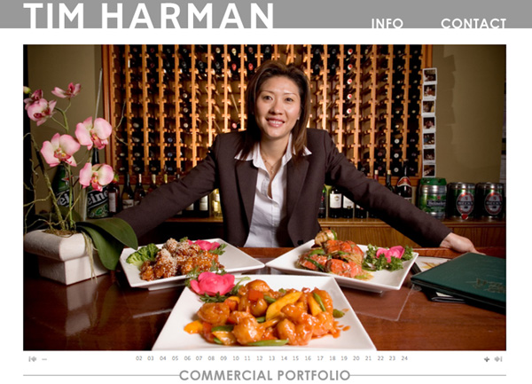 Tim Harman Photography, Commercial Portfolio