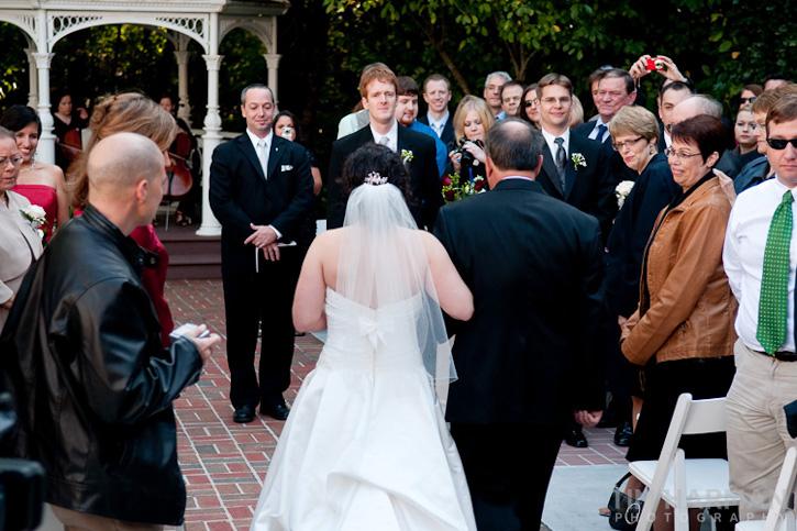Wedding at Flint HIll