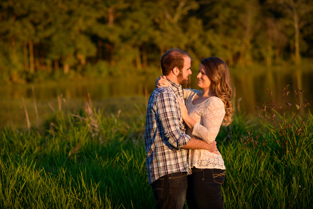 engagement shoot in downtown acworth and acworth beach