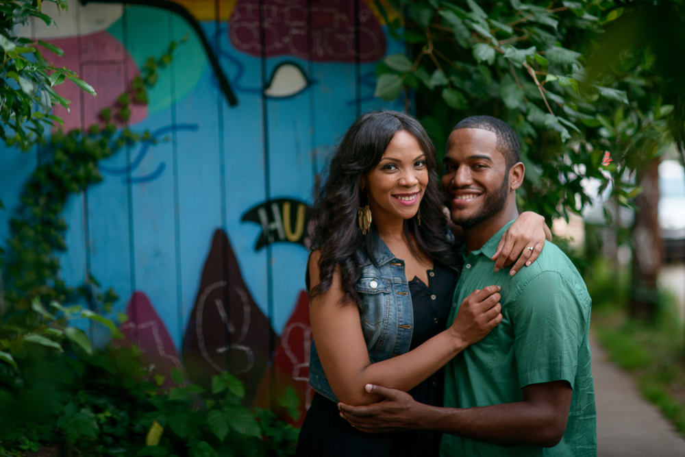 Freedom Park engagement shoot