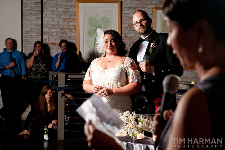 Wedding at King Plow Arts Center