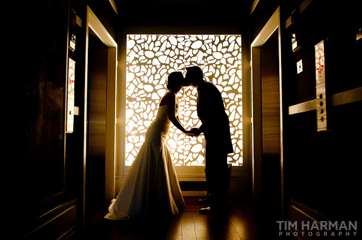 wedding at Trinity Presbyterian Church, reception at The W Hotel, Buckhead