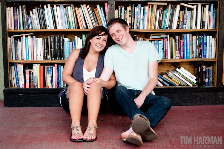 Engagement Shoot in Little Five Points, Freedom Park