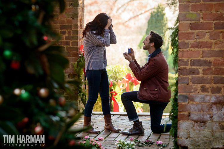 Proposal at Barnsley Gardens