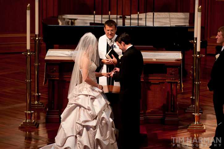 wedding at Peachtree Road United Methodist Church