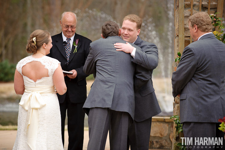 Wedding at Glendalough Manor in Tyrone, GA