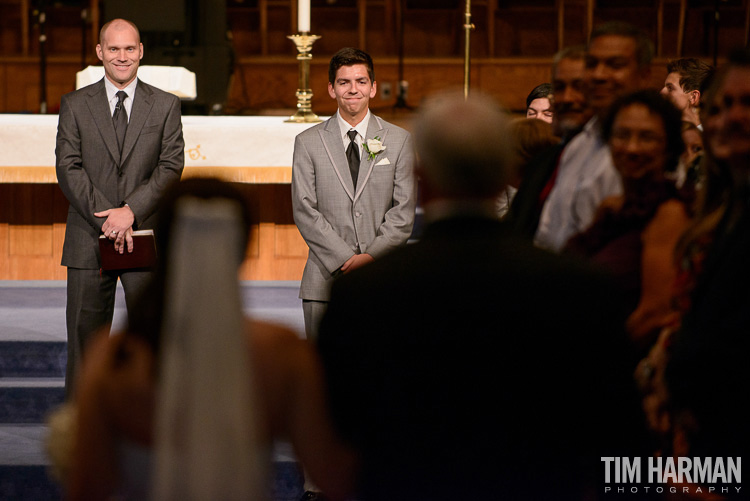 Wedding at Roswell United Methodist Church with reception following at Roswell Founders Hall