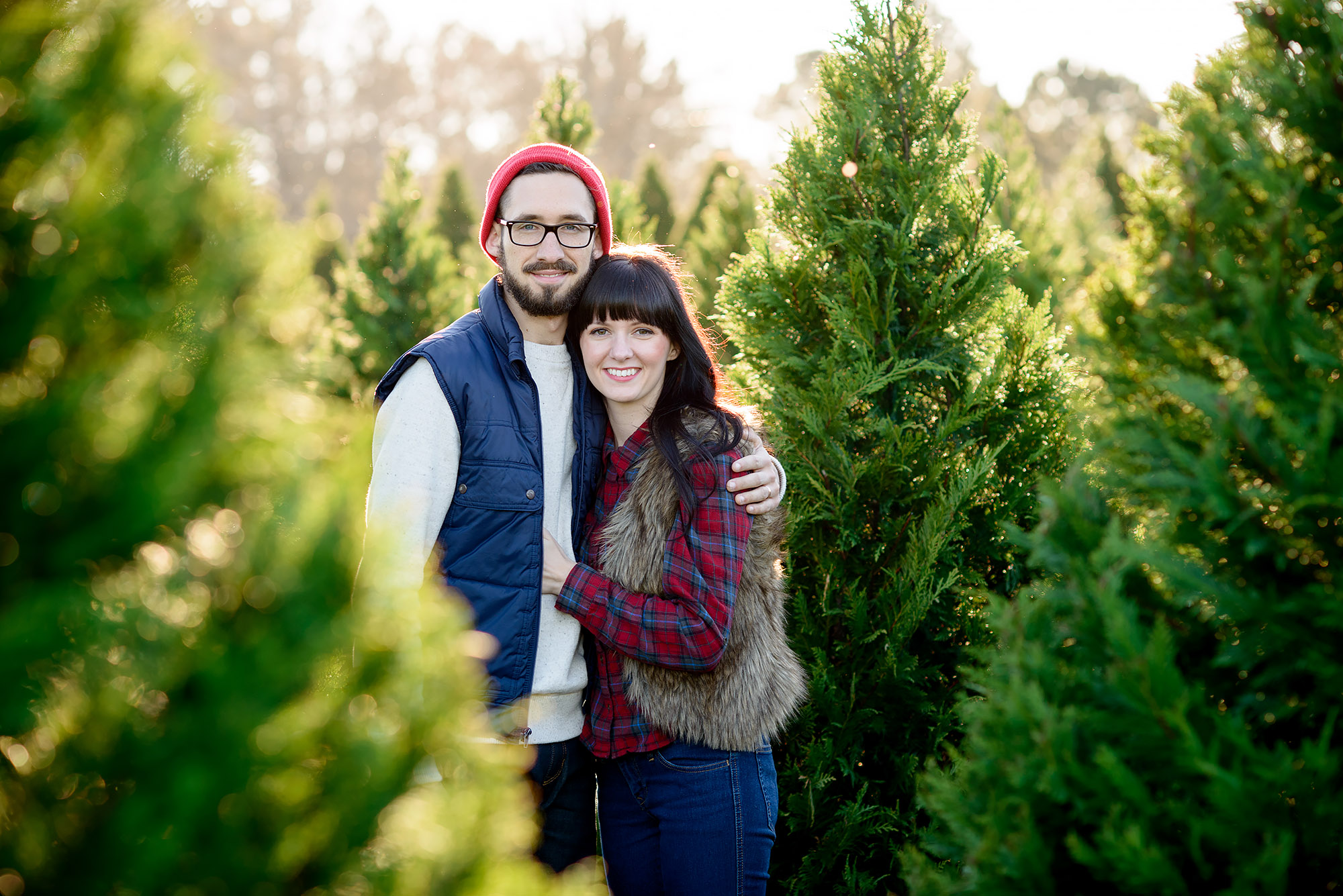 Josh and Hollie | First Christmas Tree