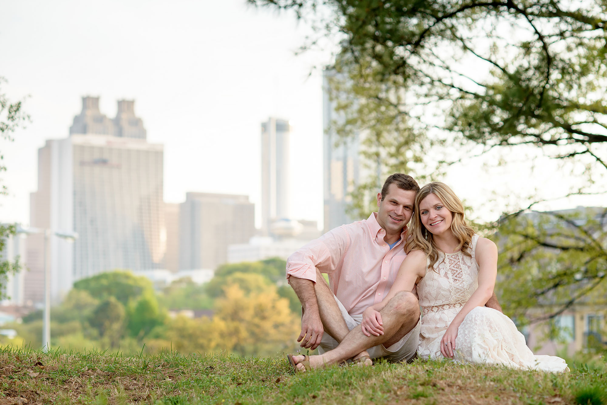 Kyle and Catie | Atlanta Engagement Shoot
