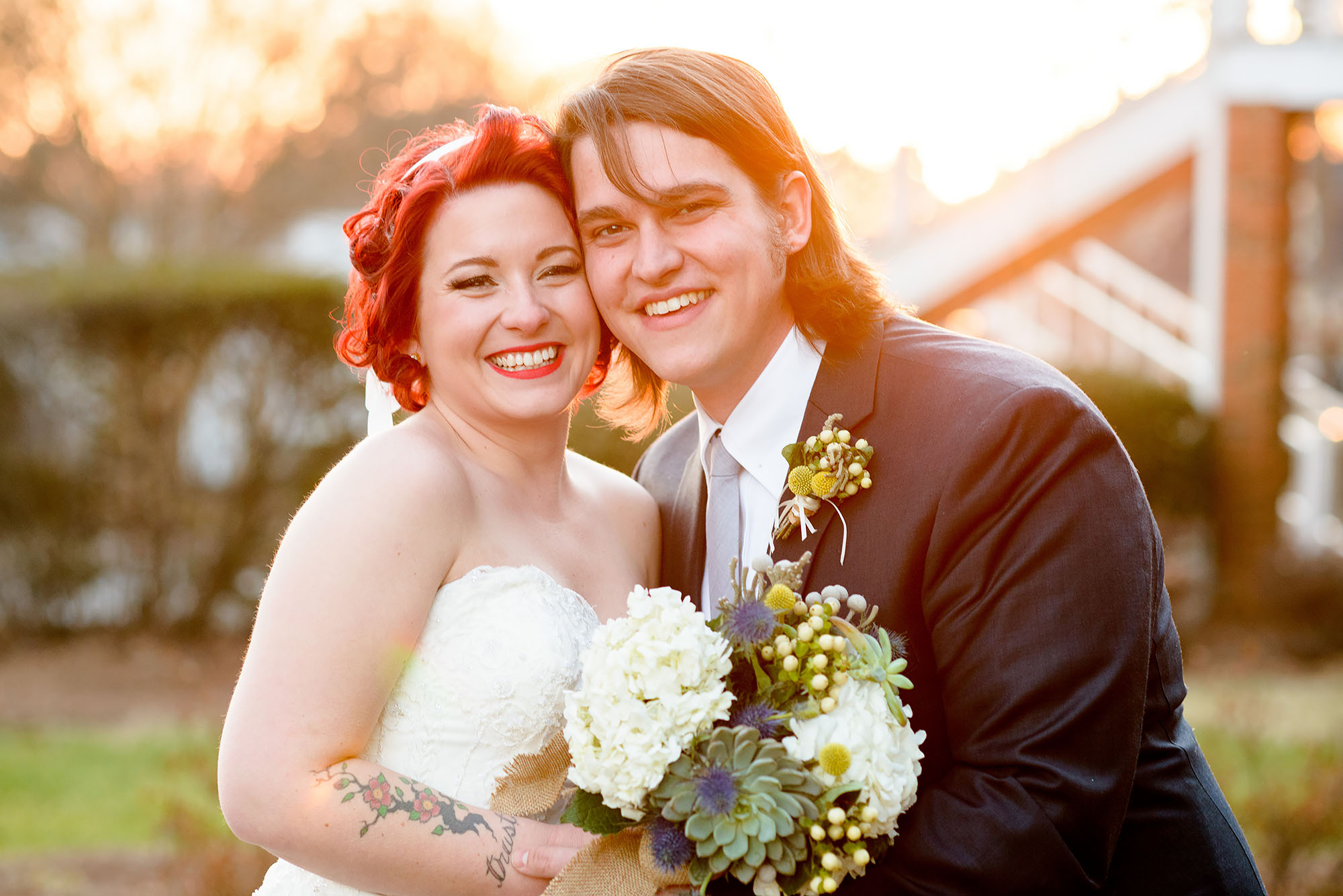 Brandon and Joy | Wedding at Roswell Historic Cottage