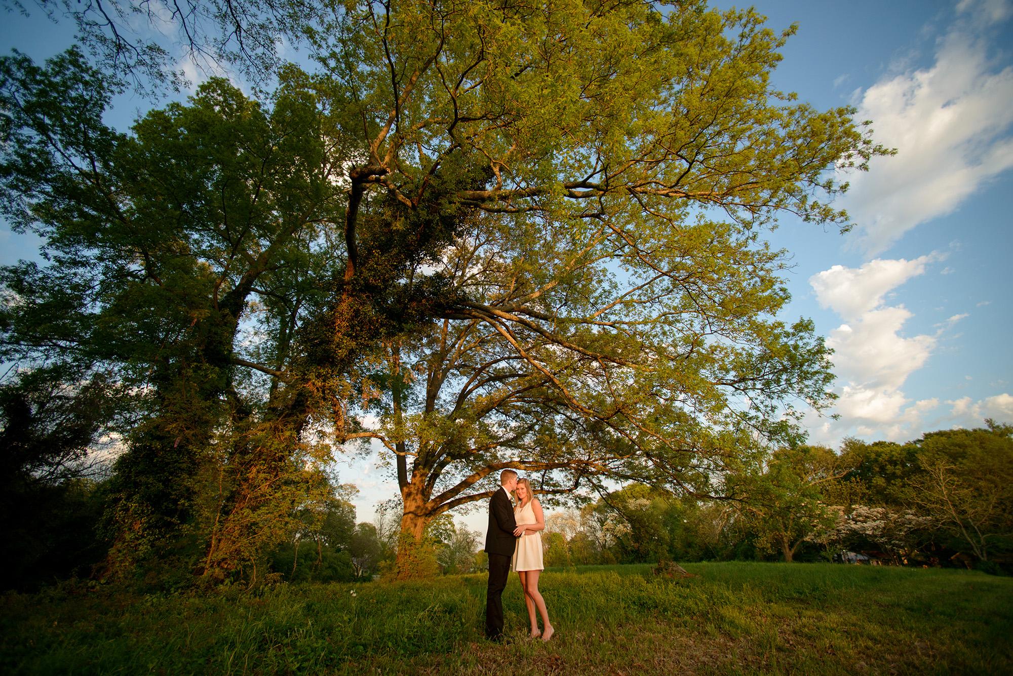 Chase and Katie | Marietta Engagement Shoot