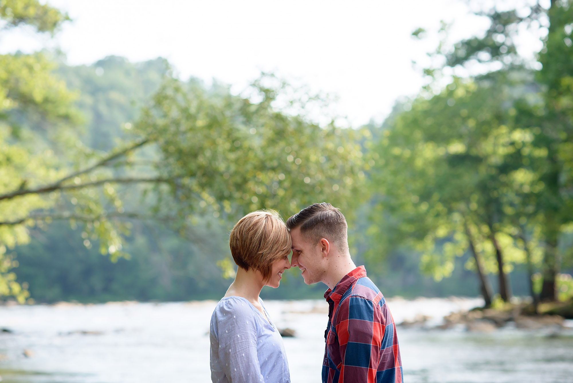 Brian and Mattie | Chattahoochee River Engagement Shoot