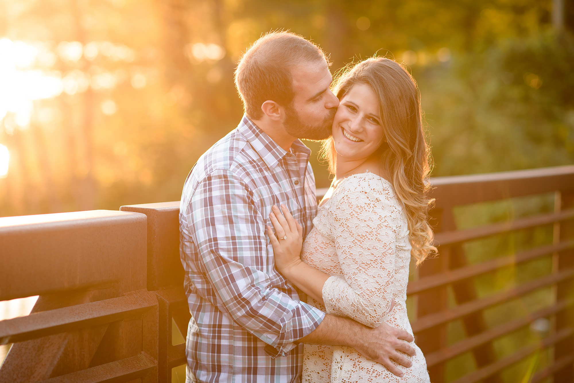 Christian and Jennifer | Acworth Engagement Shoot